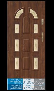 Drzwi wejściowe Q22