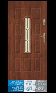 Drzwi wejściowe Q23