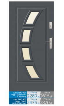 Drzwi wejściowe Q28