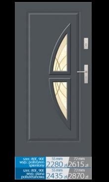 Drzwi wejściowe Q29