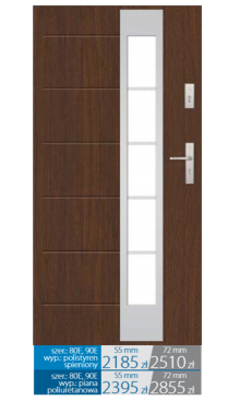 Drzwi wejściowe Q8
