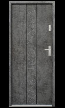 Drzwi wejściowe Bastion B-74
