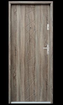 Drzwi wejściowe Bastion N53